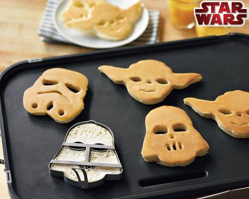 Star Wars Cookie Cutters & Pancake Molds