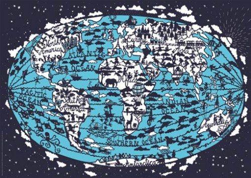 Famille Summerbelle World Map