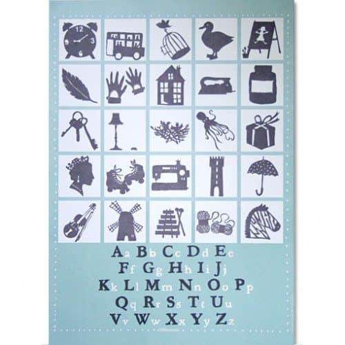 Famille Summerbelle Alphabet Print