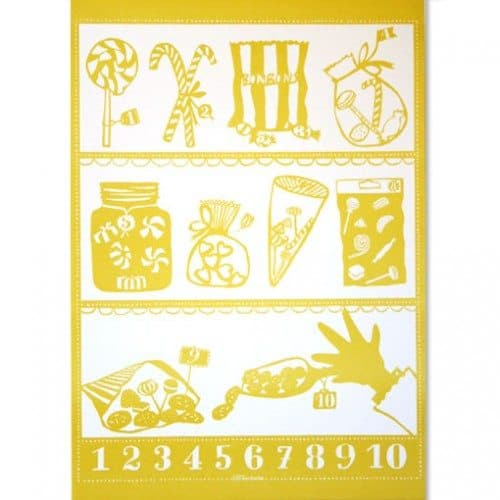 Famille Summerbelle Counting Print