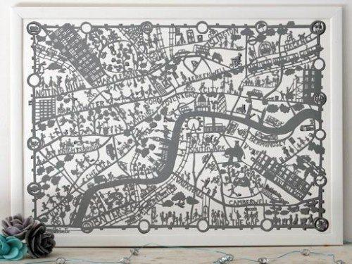 Famille Summerbelle London Map