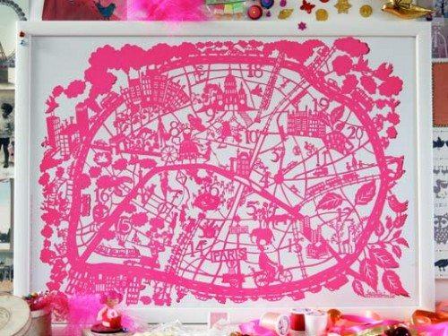 Famille Summerbelle Paris Map