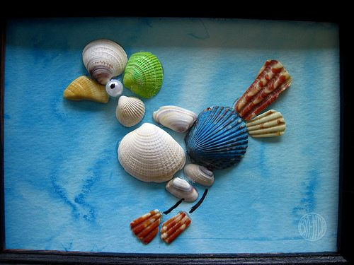 craft ideas using shells sea shell craft alpha 3956