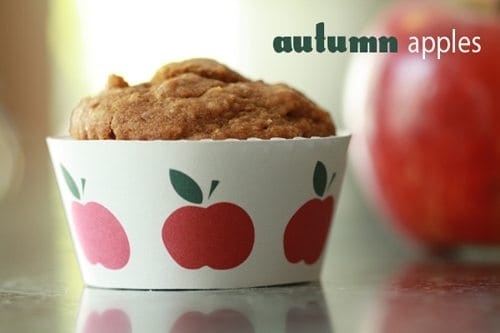 Autumn Apple Muffins