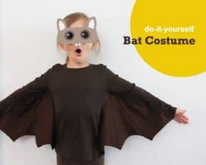 sc 1 st  Alpha Mom & Do-It-Yourself Kidu0027s Bat Costume | Alpha Mom