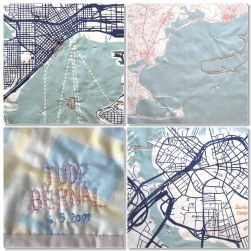 Baby Quilt Cities