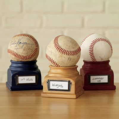 Baseball Podium Display
