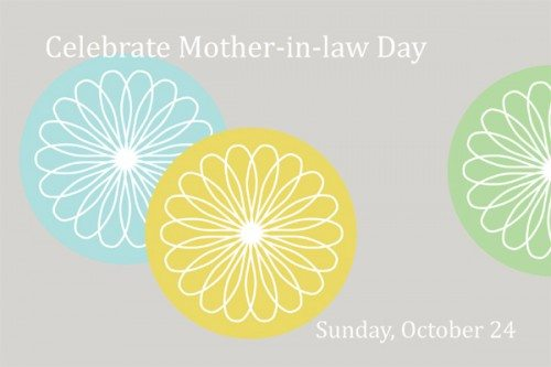 Mother-in-Law Day: Free Printable Card