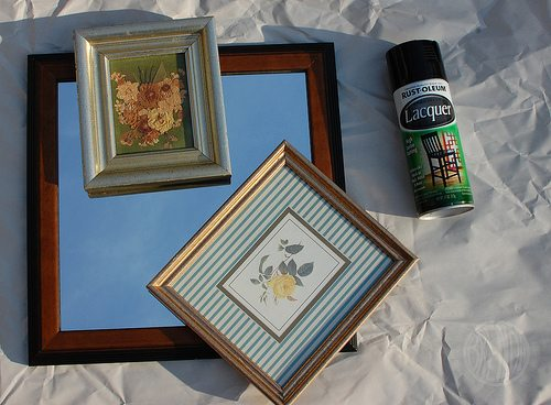 lovely thrift store frames