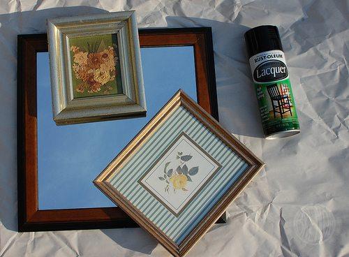 lovely thrift store frames