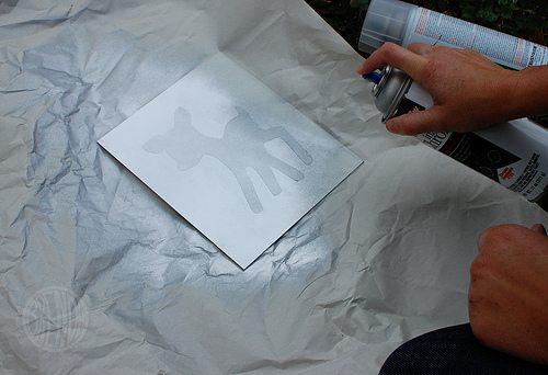 chrome spray