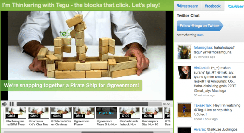 Tegu Live Pirate Ship