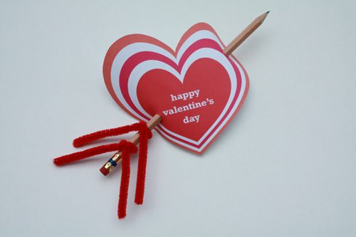 Valentine's Day Cards from Cupid