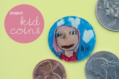 Presidents' Day Craft: Kid Coins