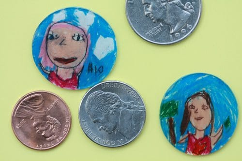 kid coins craft