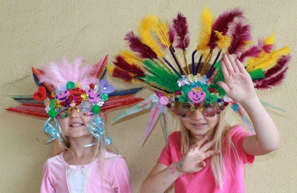 DIY Mardi Gras Masks for Kids
