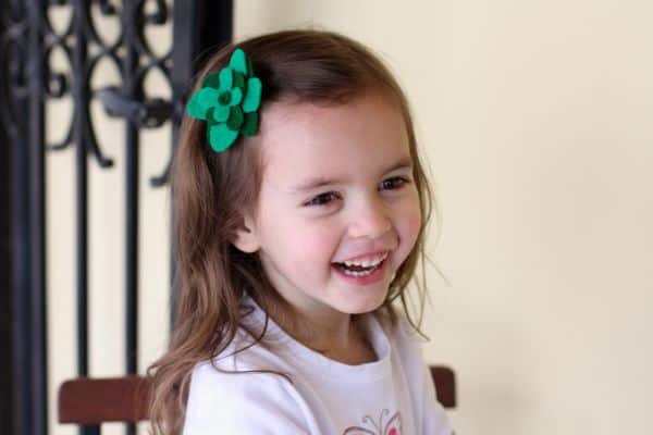 St. Patrick's Day Four-Leaf Clover Accessory