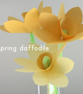 Spring Paper Daffodils