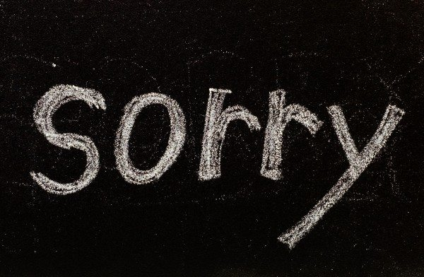 Seven Rules on How to Apologize