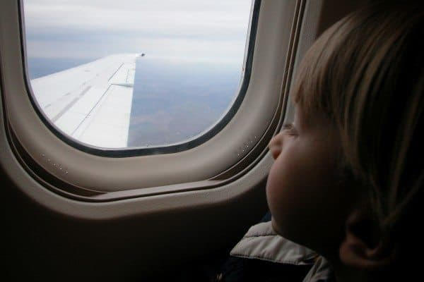 Flying with a Small Child