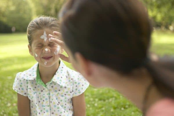 Sunscreen, Acne & Toddlers