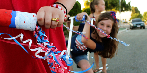 Patriotic Parade Streamers for Your Bicycles & Scooters