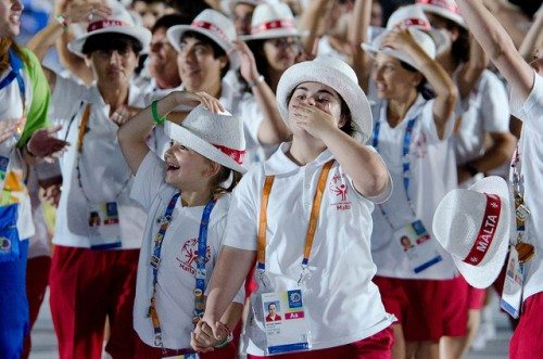 Special Olympics Opening Ceremonies