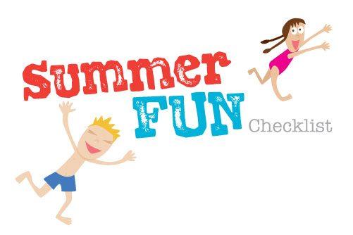 Summer Fun Checklist