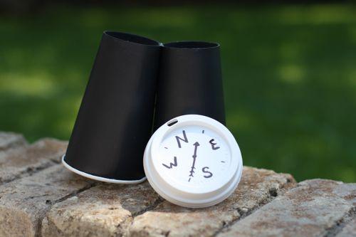 paper cup binoculars 2