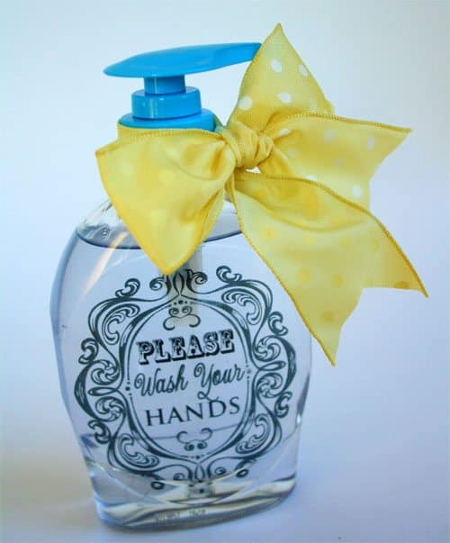 Embellished Liquid Hand Soap