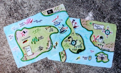 Talk Like A Pirate Day Maps