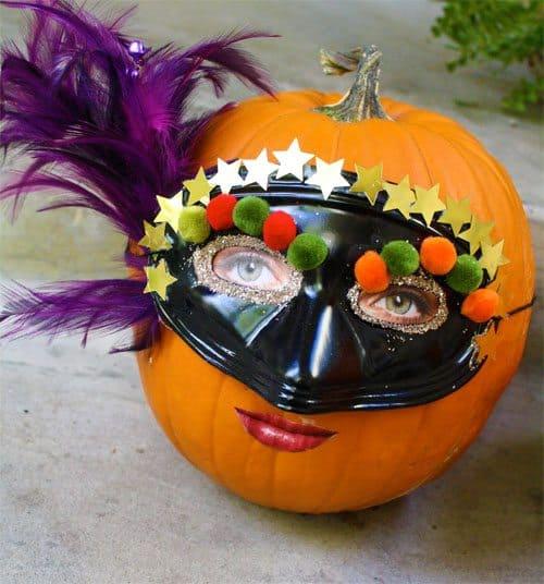 Halloween Craft: Silly Pumpkins