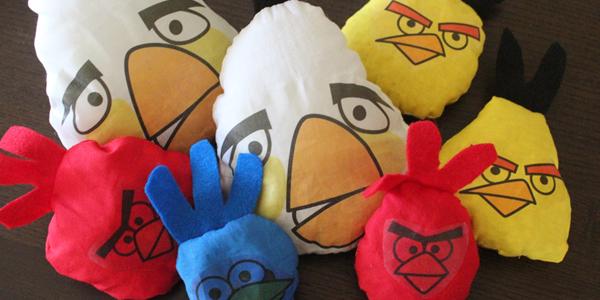 Angry Birds Bean Bag Toss Game!