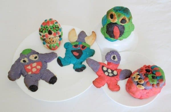 Halloween Sugar Cookies: Skulls and Monsters