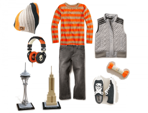 Child Style: City Boy's Autumn Weather Wear