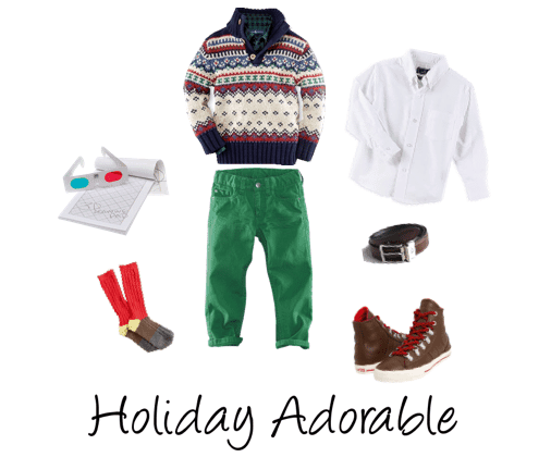 Boys Holiday Outfit