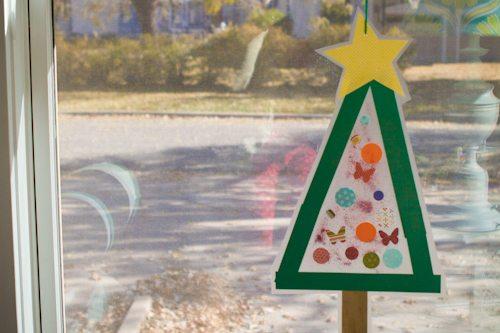 Christmas Tree Sun Catcher