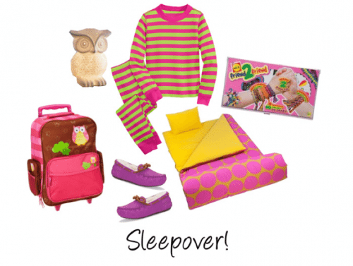 Child Style: Girls' Sleepover!