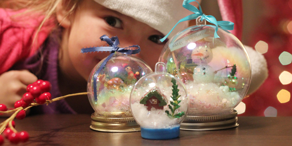 Winter Craft: Waterless Snow Globes!