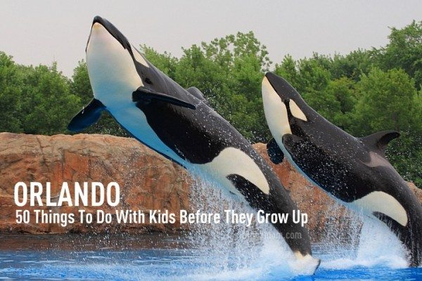 50 Things To Do in Orlando With Kids Before They Grow Up