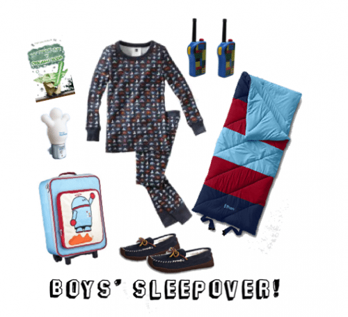 Child Style: Boys' Sleepover