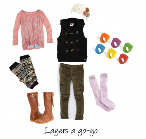 Child Style: Girls' Casual Layering