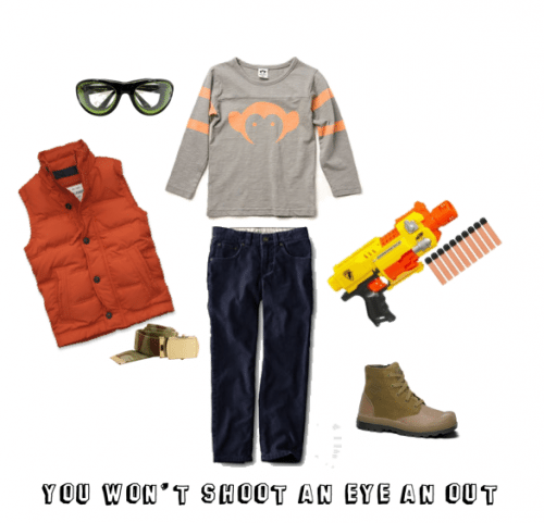 Child Style: You Won't Shoot An Eye Out
