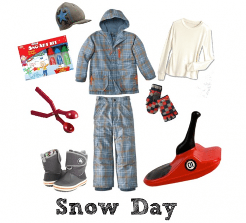 Snow Day Gear and Toys for Kids