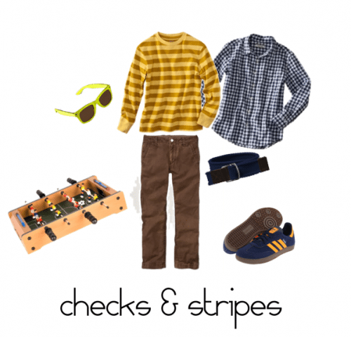 Child Style Checks and Stripes