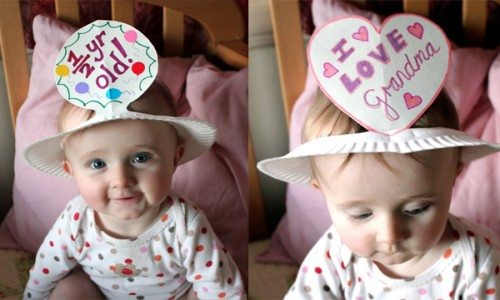 Holiday Hats for Every Occasion Made from Paper Plates for baby