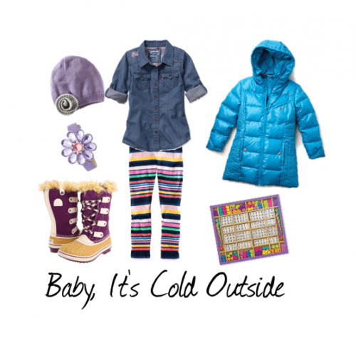 Cool Puffer and Snow Boots for Girls