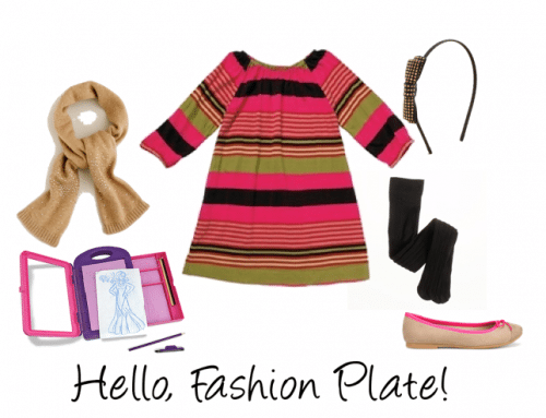 Girls' Color Block Outfit