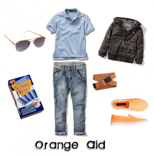 Child Fashion: Orange-Aid