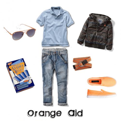 Child Fashion: Orange-Aid